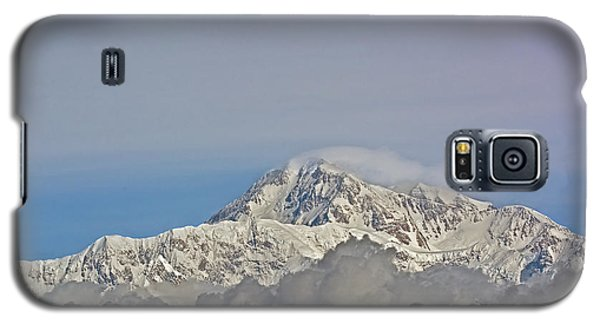 Galaxy S5 Case featuring the photograph Mt. Mckinley View by Stephen  Johnson