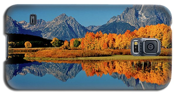Mt. Moran Reflection Galaxy S5 Case