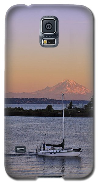 Mt. Rainier Afterglow Galaxy S5 Case