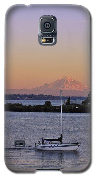 Mt. Rainier Afterglow Galaxy S5 Case by Adam Romanowicz