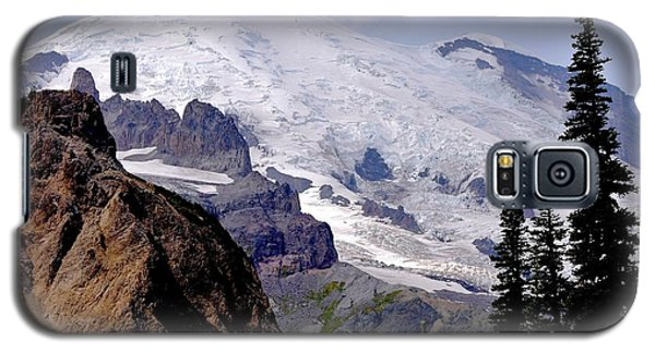 Mt Rainier From Panhandle Gap Galaxy S5 Case by Scott Nelson