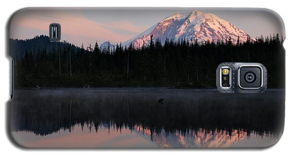 Mt. Rainier From Surprise Lake Galaxy S5 Case by Kjirsten Collier