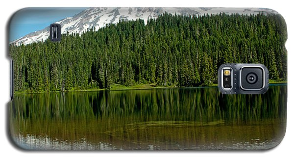 Galaxy S5 Case featuring the photograph Mt. Rainier II by Tikvah's Hope