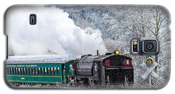 Mt. Rainier Scenic Steam Train Galaxy S5 Case