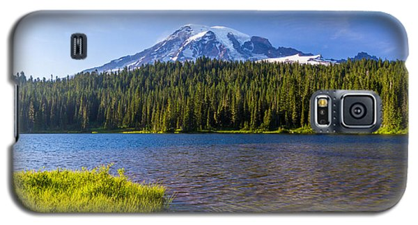 Mt Rainier Viewpoint Galaxy S5 Case