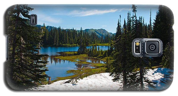 Galaxy S5 Case featuring the photograph Mt. Rainier Wilderness by Tikvah's Hope