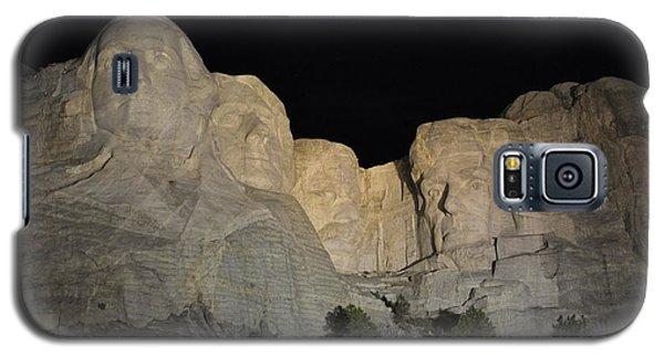 Mt. Rushmore At Night Galaxy S5 Case