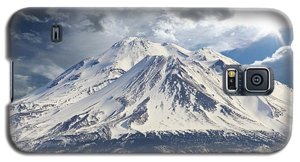 Galaxy S5 Case featuring the photograph Mt Shasta by Athala Carole Bruckner