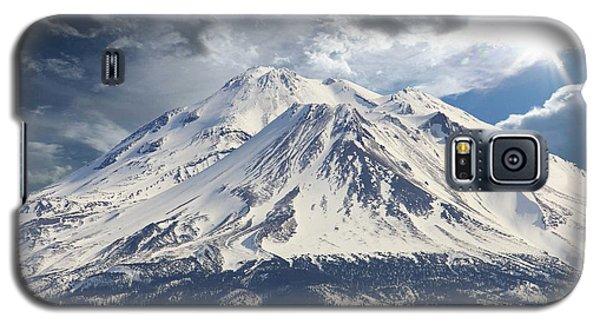 Mt Shasta Galaxy S5 Case by Athala Carole Bruckner