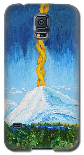 Mt. Shasta Galaxy S5 Case by Cassie Sears