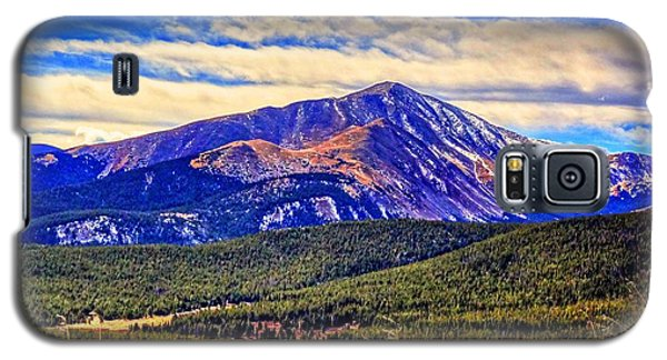 Galaxy S5 Case featuring the photograph Mt. Silverheels II by Lanita Williams