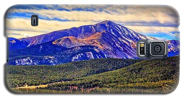 Mt. Silverheels II Galaxy S5 Case by Lanita Williams