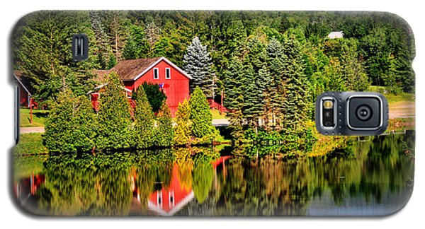 Mt. Snow In Summer Galaxy S5 Case by Mitchell R Grosky