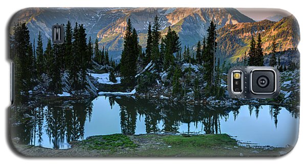Mt. Timpanogos At Sunrise From Silver Glance Lake Galaxy S5 Case