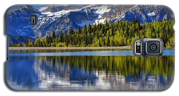 Mt. Timpanogos Reflected In Silver Flat Reservoir - Utah Galaxy S5 Case