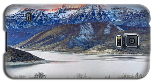 Mt. Timpanogos Winter Sunrise Galaxy S5 Case
