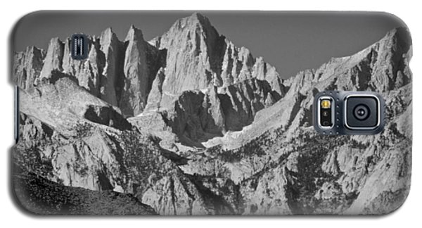 Mt. Whitney In Black And White Galaxy S5 Case