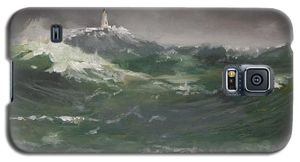 Muckle Flugga Lighthouse Shetland Galaxy S5 Case