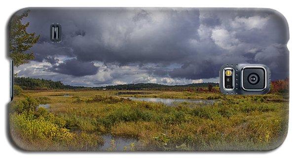 Mud Pond Clouds Galaxy S5 Case