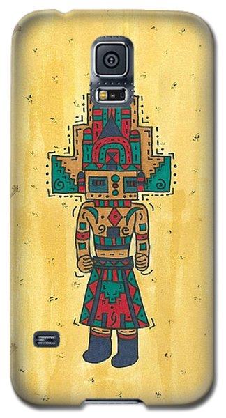 Mudhead Kachina Doll Galaxy S5 Case by Susie Weber