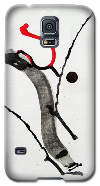Galaxy S5 Case featuring the painting Muga No Genri Ni by Roberto Prusso