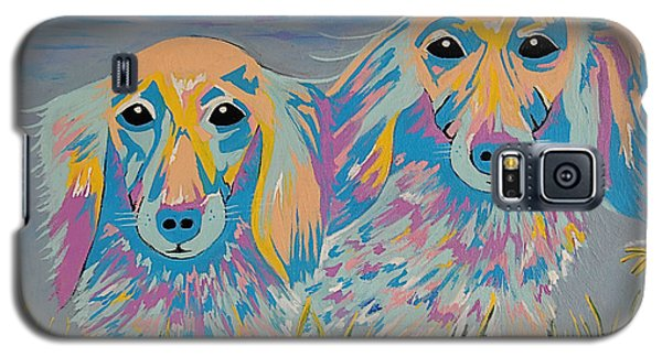 Galaxy S5 Case featuring the painting Mugi And Tatami by Kathleen Sartoris