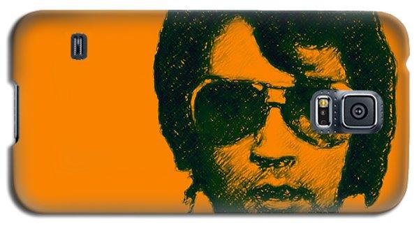 Mugshot Elvis Presley Square Galaxy S5 Case