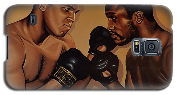 Muhammad Ali And Joe Frazier Galaxy S5 Case by Paul Meijering