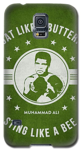Boxing Muhammad Ali Galaxy S5 Case - Muhammad Ali - Green by Aged Pixel