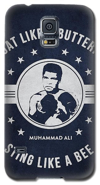 Boxing Muhammad Ali Galaxy S5 Case - Muhammad Ali - Navy Blue by Aged Pixel