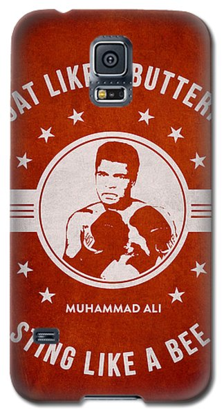 Boxing Muhammad Ali Galaxy S5 Case - Muhammad Ali - Red by Aged Pixel