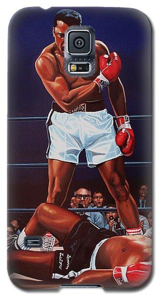 Muhammad Ali Versus Sonny Liston Galaxy S5 Case