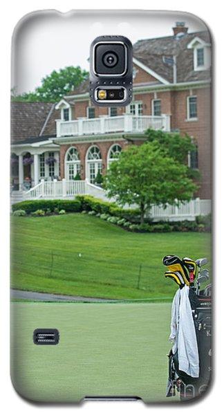D12w-289 Golf Bag At Muirfield Village Galaxy S5 Case