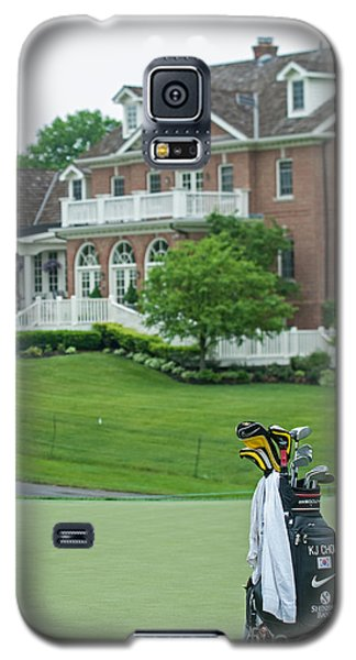 D12w-289 Golf Bag At Muirfield Village Galaxy S5 Case