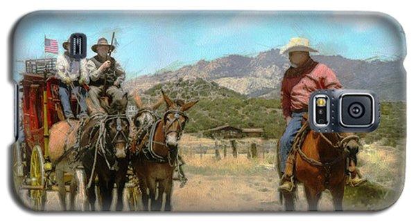Mule Skinners Galaxy S5 Case by Rhonda Strickland