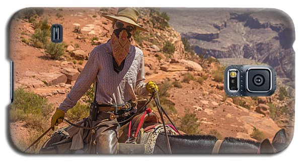 Mule Wrangler On The South Kaibab Trail Galaxy S5 Case