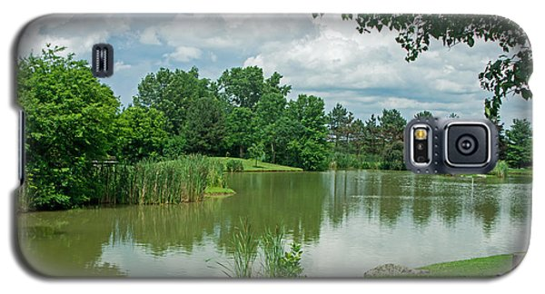 Muller Chapel Pond Ithaca College Galaxy S5 Case