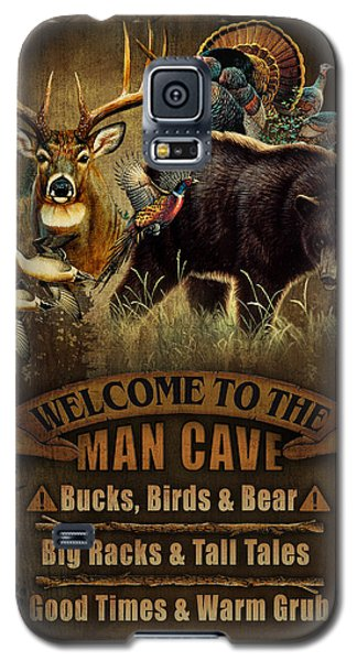 Pheasant Galaxy S5 Case - Multi Specie Man Cave by JQ Licensing