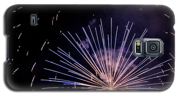 Multicolor Explosion Galaxy S5 Case by Suzanne Luft
