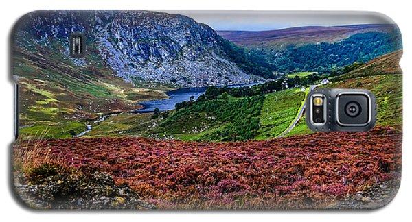 Multicolored Carpet Of Wicklow Hills. Ireland Galaxy S5 Case