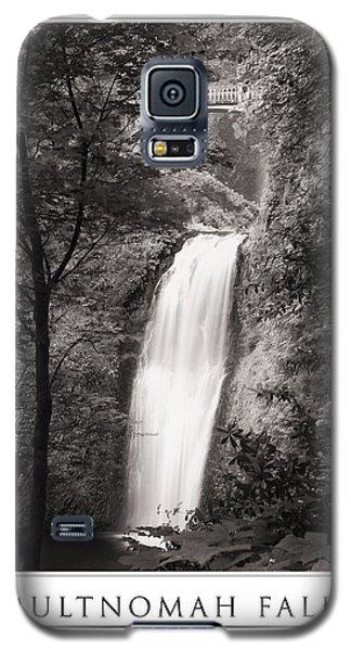 Multnomah Falls Poster Galaxy S5 Case