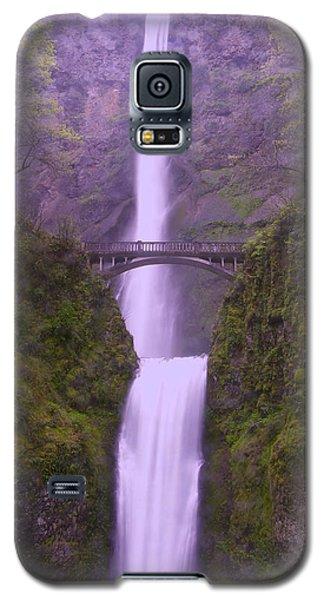 Multnomah In The Drizzling Rain Galaxy S5 Case by Jeff Swan