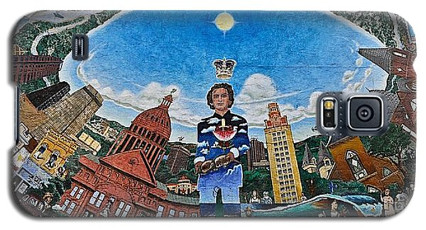 Mural Of Stephen F Austin Off Guadalupe Galaxy S5 Case