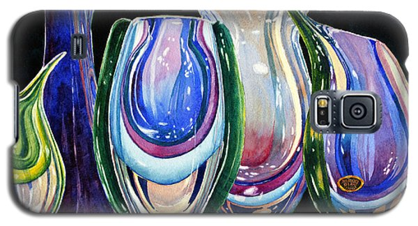 Murano Crystal Galaxy S5 Case by Roger Rockefeller