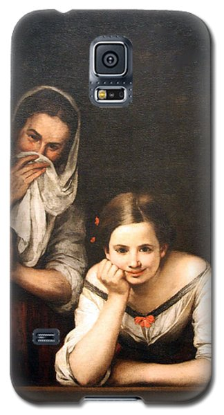 Murillo's Two Women At A Window Galaxy S5 Case