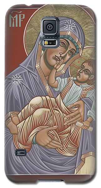 Galaxy S5 Case featuring the painting Murom Icon Of The Mother Of God 230 by William Hart McNichols