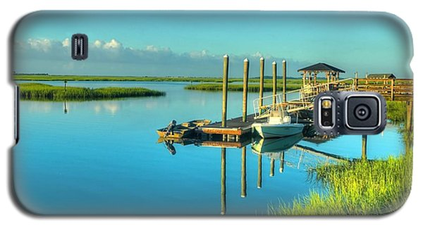 Murrells Inlet Dock Galaxy S5 Case by Ed Roberts