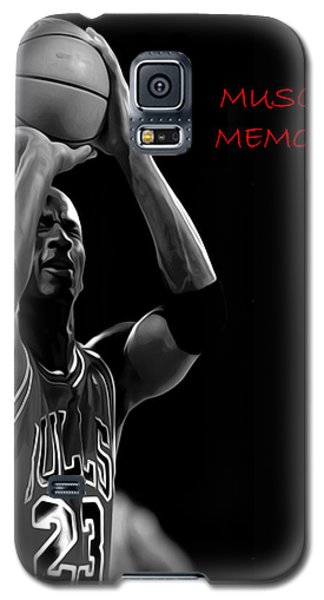 Galaxy S5 Case featuring the painting Muscle Memory by Brian Reaves