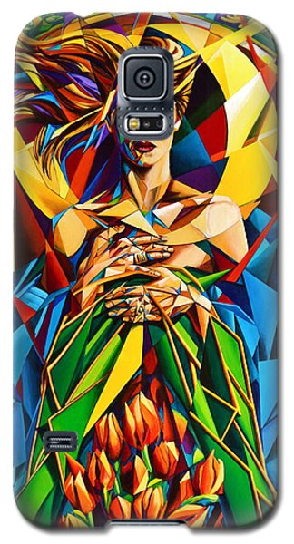 Muse  Spring Galaxy S5 Case by Greg Skrtic
