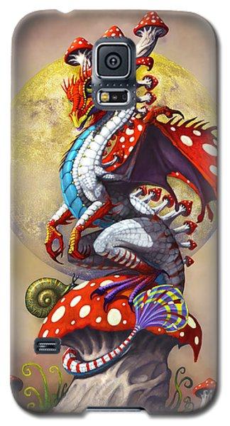 Mushroom Dragon Galaxy S5 Case by Stanley Morrison